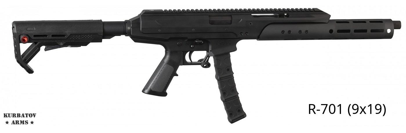 Kurbatov Arms R-701 9x19