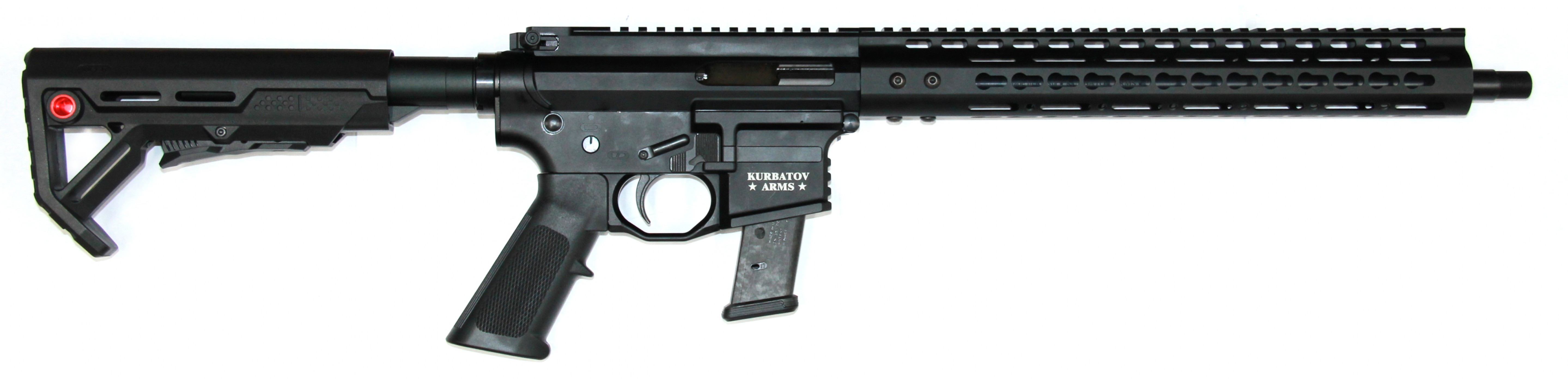 "Kurbatov Arms  R-709  (9x19) barrel 395 mm. (15,5 "")"