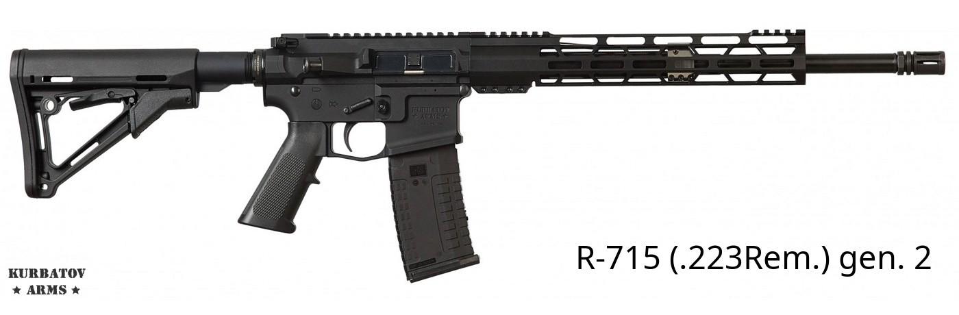 Kurbatov Arms R-715 (.223Rem.) gen. 2
